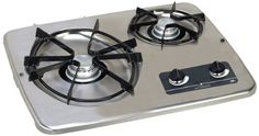 Atwood (56494) DV 20S Stainless Steel Drop-In 2-Burner At...