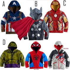 New year STAR WARS Avengers Iron Man boys Coat Hoodies Long Sleeve Boy's jacket Sweatshirt Kids Outerwear