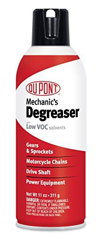 DuPont Motorcycle Degreaser for Chain and Sprockets 11-Ounce Aerosol. For product info go to:  https://www.caraccessoriesonlinemarket.com/dupont-motorcycle-degreaser-for-chain-and-sprockets-11-ounce-aerosol/