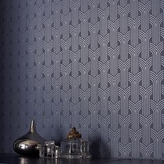 Cinema Art Deco Wallpaper - Geometric Wall Coverings by Graham Brown