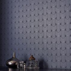Cinema Art Deco Wallpaper - Geometric Wall Coverings by Graham  Brown