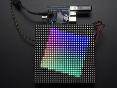 Nice project from Frederick Vandenbosch – would be a great holiday gift! I've always wanted to play with a big LED matrix, and now I have!  In this post, I'm making a Pixel Art frame, capabl…