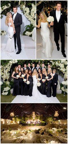 Celebrity Wedding Decor / Celebrity Weddings For more inspiring wedding ideas come visit our other Veilability wedding boards or www.veilability.com.au