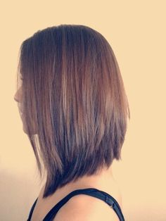 longer inverted bob - Google Search - would be perfect for my current length to…