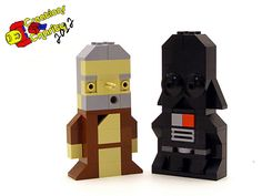 8 Stunning Micro LEGO Star Wars Characters: http://www.bitrebels.com/geek/micro-lego-star-wars-characters/