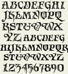 Calligraphy Fonts Alphabet, Tattoo Lettering Fonts, Typography Alphabet, How To Write Calligraphy, Doodle Lettering, Graffiti Lettering, Lettering Styles, Vintage Typography, Lettering Design