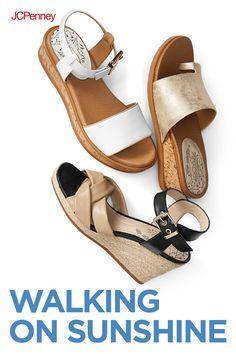 e8bcb2b18f4f Women s Sandals   Flip Flops for Shoes - JCPenney