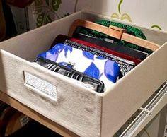 ideas para ordenar clutches