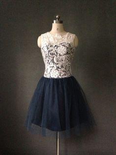 Chiffon dress from Etsy