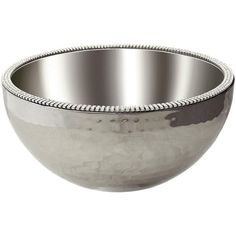 """Alan Lee Collection 8"""" Angle Hammered Bowl"""