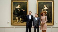 De portretten van Maerten en Oopjen worden vanaf vandaag tentoongesteld in afwisselend het Louvre in Parijs en het Rijksmuseum in Amsterdam.