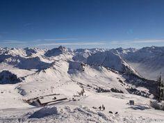 Domaine skiable d'Au-Schoppernau dans le Vorarlberg en Autriche