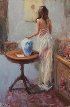 Dan Beck ~ The Dreamers Spanish Artists, French Artists, Southwest Art, Painting Process, Italian Artist, Woman Painting, Portrait Art, Portraits, American Artists