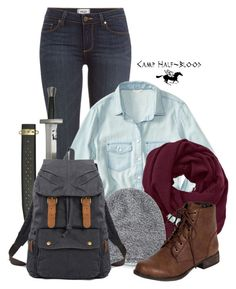 """""""CHB - Fall Quest"""" by maia-lh46 ❤ liked on Polyvore featuring Paige Denim, Aéropostale, S.W.O.R.D., Athleta, Toast and Breckelle's"""
