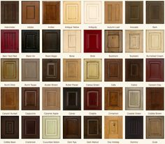 Kitchen Cabinets Color Selection | Cabinet Colors Choices ...