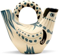 picasso's pottery (which he painted although someone else made the actual pots)