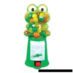 Personalized Frog  Gumball Machine Party Favor- Princess and the frog theme-1st Birthdays, Baby Showers, Christenings, Communions by KUTEKUSTOMKREATIONS on Etsy