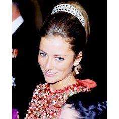 Queen Paola of Belgium - then Princess of Liège in 1961