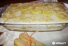 Citromos tiramisu tojás nélkül Tiramisu, No Bake Treats, Camembert Cheese, Dairy, Sweets, Baking, Desserts, Food, Tailgate Desserts