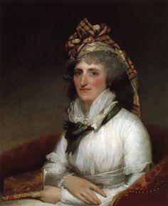 1797  The Athenaeum - Mary Willing Clymer (Gilbert Stuart - )