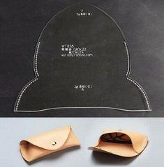 Wuta Eyeglasses Case Template Set Acrylic Leather Pattern DIY Design for sale online