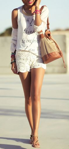 We want lace shorts! #loledeux
