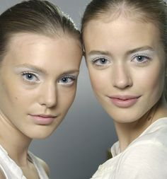 make-up met witte oogschaduw - Google zoeken