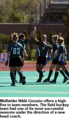 2005 - The Ohio field hockey team saw big improvements in its first year under head coach NEIL MACMILLAN. The Bobcats recorded their most overall wins since 2003 and their best mark in conference play since 2001. Senior LINDSAY ROTHENBERGER earned MAC Player of the Year and second-team all-region, and six members of the squad were named to the Division I National Academic Squad.