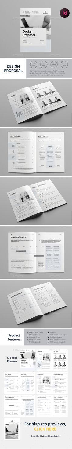 Executive Summary Template A4 BioAmp Pinterest Print - business monthly report