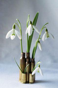 DIY Bullet Case Mini Vase Tutorial   HungryHeart.se