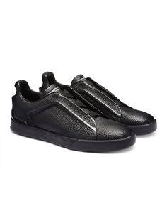 Triple Stitch Slip-on Sneaker FW16 9896031   Zegna