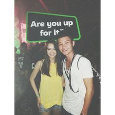 Thank god I met this girl. Her smile melt icebergs. A Swedish-Chinese mix in Malaysia.
