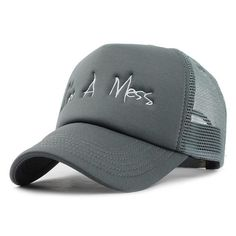 FLB Baseball Cap with Mesh Brand Snapback 215498d1ac6a