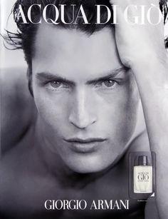 Fragrance Acqua di Gio by Giorgio Armani,Larry Scott model