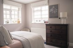 Interiors envy: Sarah Clark - The Frugality Blog Gray Bedroom, Two Bedroom, Pink Bedrooms, Bedroom Colors, Bedroom Inspo, Kids Bedroom, Bedroom Ideas, The Frugality, Farrow And Ball Bedroom