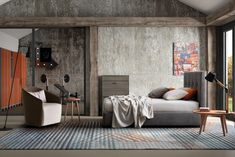 Pat tapitat cu spatiu de depozitare Love #bedroom #homedecor #redecoraredormitor Entryway Bench, Divider, Interior, Modern, Room, Furniture, Design, Home Decor, Entry Bench