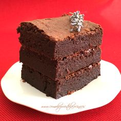 brownie-receta-españa Cooking Recipes, Healthy Recipes, Chocolate Brownies, Tostadas, Four, Fudge, Deserts, Food And Drink, Yummy Food