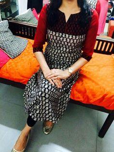 Salwar Neck Designs, Kurta Neck Design, Sari Blouse Designs, Kurta Designs Women, Dress Neck Designs, Churidhar Designs, Kurta Patterns, Kurti Embroidery Design, Stylish Dress Designs
