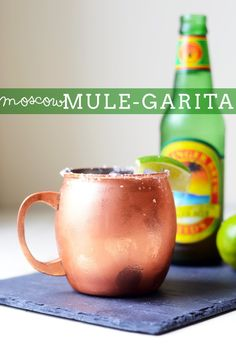 Moscow Mule-garita Cocktail - my new favorite drink recipe | init4thelongrun.com