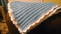 Classic Baby Blanket, Easy for Beginners!