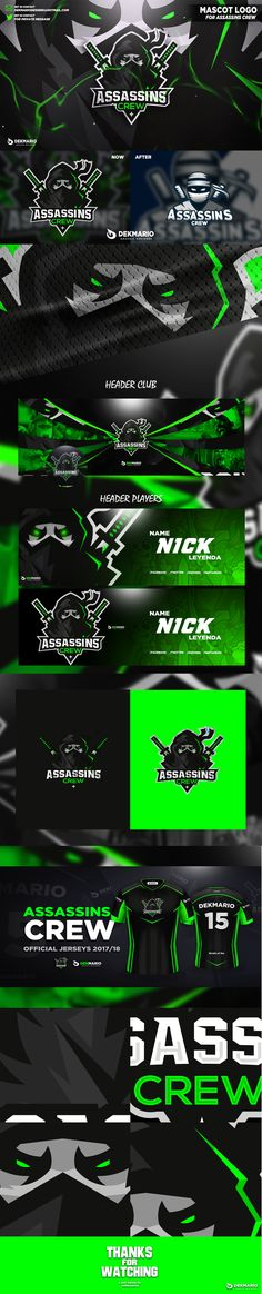 Showcase and discover creative work on the world's leading online platform for creative industries. Twitch Streaming Setup, Gaming Banner, Esports Logo, Sports Graphics, Game Logo, Logo Sticker, Logo Design Services, Design Reference, Animes Wallpapers