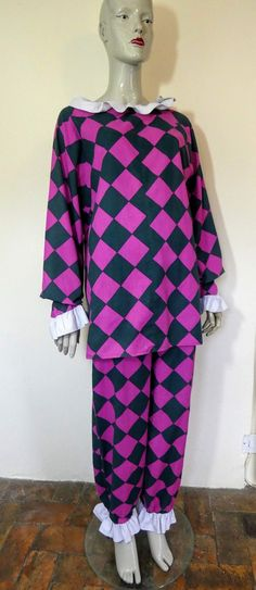 Laura Ashley Pierrot Suit, Size M Laura Ashley 1980s, New Romantics, Trouser Suits, Etsy Vintage, Black Stripes, Night Out, Archive, Cover Up, Dress Up