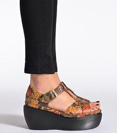 Womens-Dr-Martens-Adaya-Tan-Tattoo-Wedge-Platform-Limited-Edition-Sandals-Sz-10