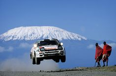 Most Epic Rally Photo Ever!!! WRC 1992 Africa. Carlos Sainz in his Toyota Celica GT-Four ST185