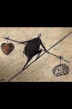 A veces encontrar el equilibrio no es fácil a primera vista, pero si buscas dentro de ti, acabarás dándote cuenta que estaba ante tus ojos
