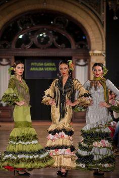 Traje de Flamenca - Pitusa-Gasul-y-Aralba-Verdu - We-love-flamenco-2015