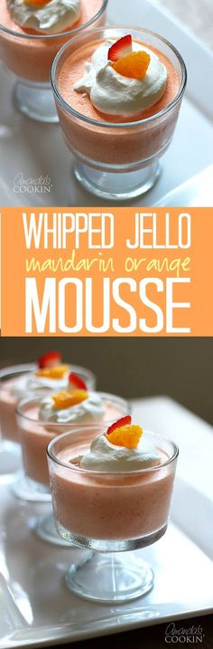 This crowd-pleasing Whipped Jello Mandarin Orange Mousse has a delightfully creamy texture, and it's easy enough for anyone to make.