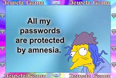 PW's protected by amnesia