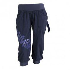 Zumba Fitness Feelin It Cargo Capri Pants - Indigo