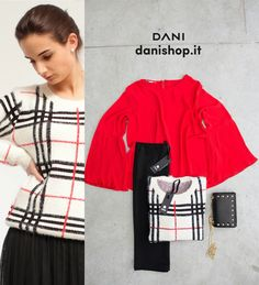 #DANI... chic is a new mood! #red #check #black #white #mustcolor find our new arrivals, tap on the link bio